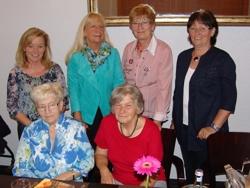 ASF-Damen der ersten Stunde: (v. l.) Sylvia Williard, Josefine Trieb, Erika Bissinger, Christel Relle, Erika Brand und Gisela Hubing