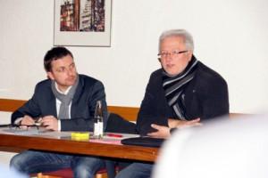 Christian Brand und Thomas Wansch MdL
