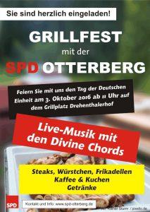 Eine gute Tradition: das Grillfest der Otterberger SPD